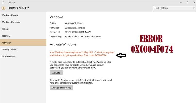 How To Solve The Error Code 0xc004f074 Easily In Windows 10?