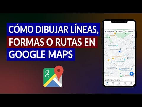 C & COLLISION m or Draw L LINES, forms or routes on Google Maps step