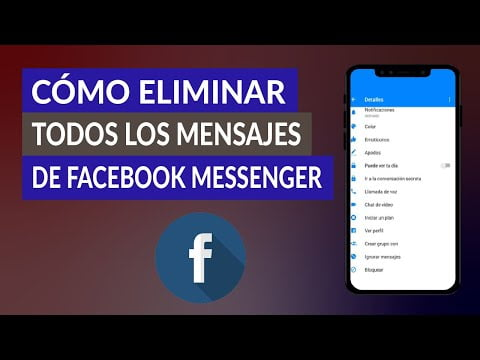 C & oacute; mo Remove once all posts by Facebook Messenger