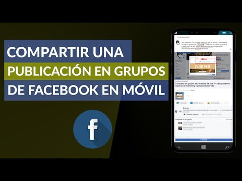 Share A Post In Groups Of Facebook From My Phone