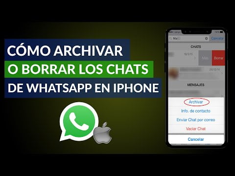 How To Archive And Unarchive Or Delete Whatsapp Chats On Iphone?