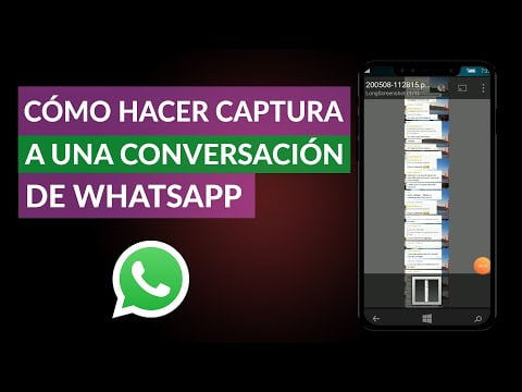 C & or cute, mo To Catch a conversation & oacute; n WhatsApp on your Cell