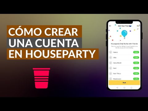How I Can Do Or Create An Account Houseparty