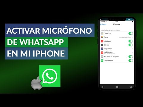 Activating The Microphone Whatsapp On My Iphone Easily