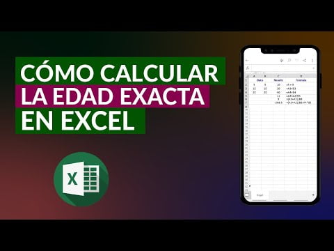 How To Calculate The Exact Age Excel -Years, Months And Days
