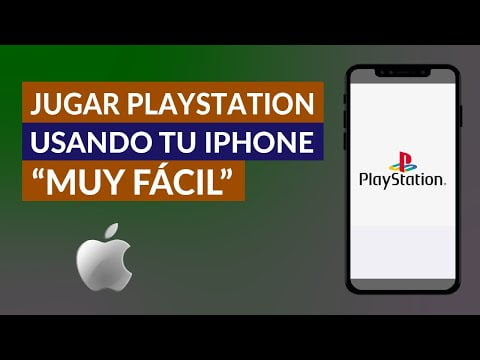 C & oacute; mo Play PlayStation Us I'm your iPhone-Very F & aacute; cil