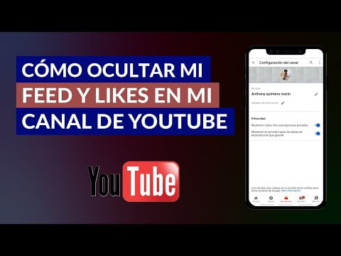 Hide Or Make Private My Feed And Likes On My Youtube Channel