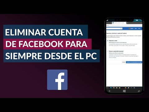 C & oacute; Remove mo a Facebook account Forever From PC