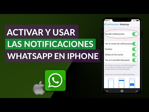 C & COLLISION mo I Activate and Use the notifications WhatsApp on iPhone