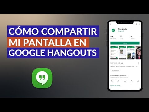 How Screen Sharing In Google Hangouts With Someone