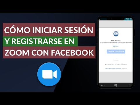 How To Log In And Register Zoom With Facebook