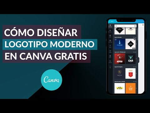 How To Create And Design A Modern Logo Canva Free Online