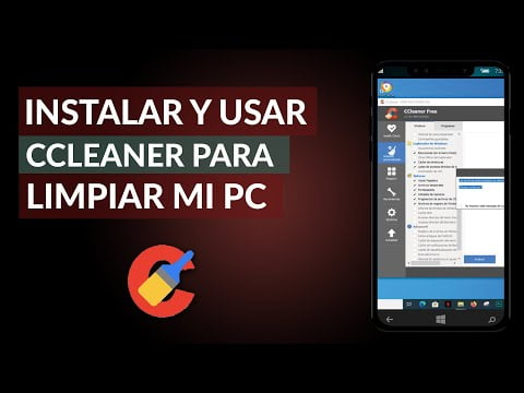 C & oacute; m Rightly or install and use CCleaner to clean my PC