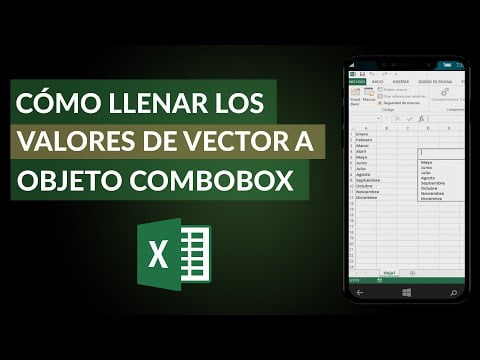 How To Fill Or Load Values Of A Vector Object Combobox Or List?