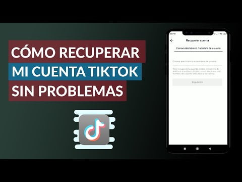 How To Recover My Account No Problem Tik Tok?