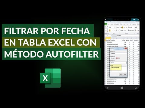 Filtering By Date In An Excel Table Using The Autofilter Method