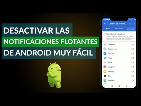 Disabling Notifications Of Android Floating In Simple Steps