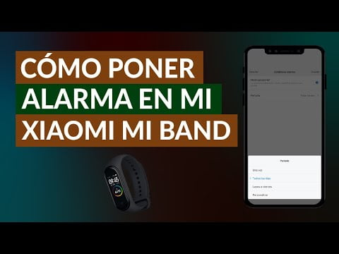 Putting Alarm Or Alarm On My Xiaomi Mi Band -Easy And Fast