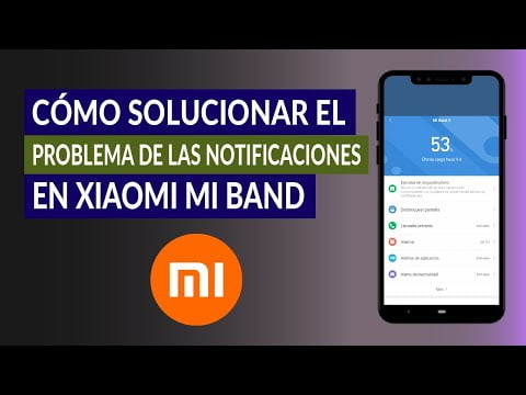 How To Solve The Problem Of Notifications Xiaomi Mi Band?