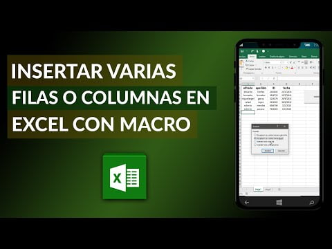 How To Insert Multiple Rows Or Columns In Excel With Macro -Very Easy