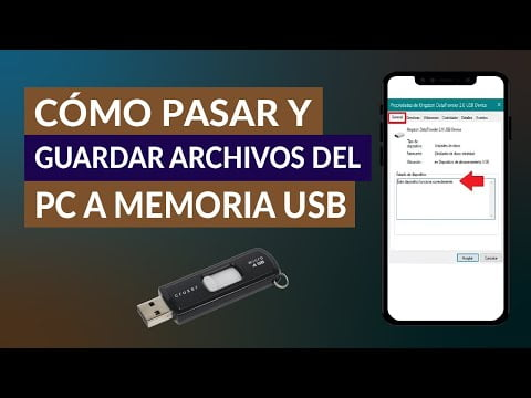 How To Spend And Save Files From The Pc To A Usb Flash Drive Memory
