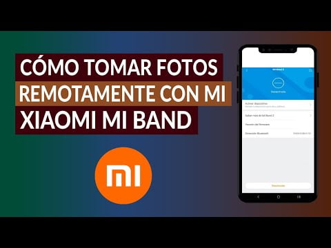 Taking Photos Remotely With My Xiaomi Mi Band -Easy And Fast