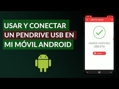 C & COLLISION mo use and ectar a USB stick in my M & oacute; vil Android
