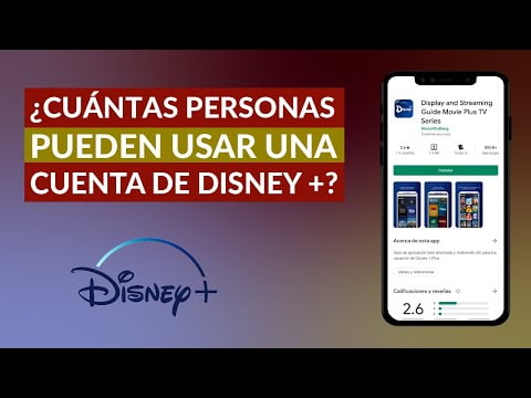 Cu & aacute; SWTR people can see Disney Plus simultaneously in the same account