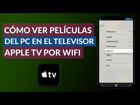 Viewing The Pc Movies On Tv With Apple Tv Wi-Fi
