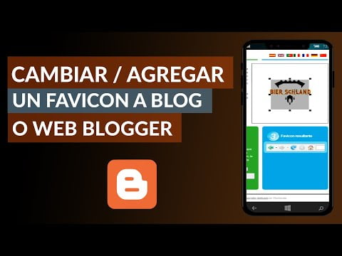 How To Change Or Add A Favicon To A Blog Or Website On Blogger