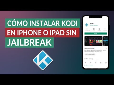 C & oacute; how to install Kodi on iPhone or iPad iOS without Jailbreak -F & aacute; cil and R & aacute; ask