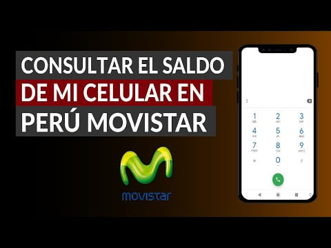 How To Check The Balance Of My Cell In Peru Movistar -Free