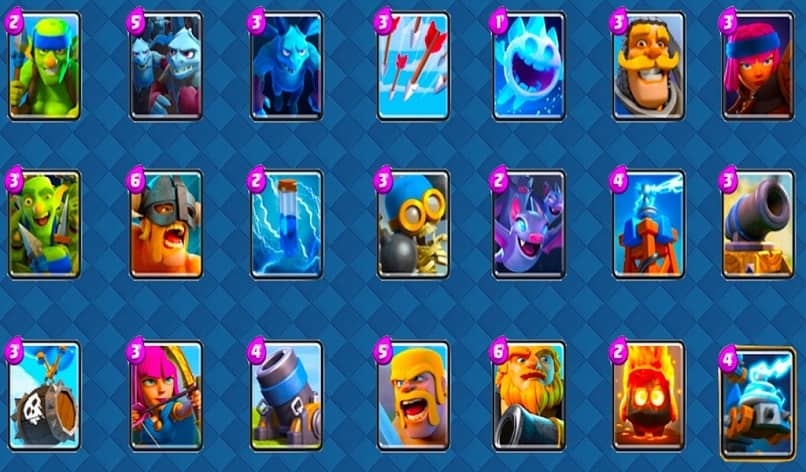 normal clash royale cards