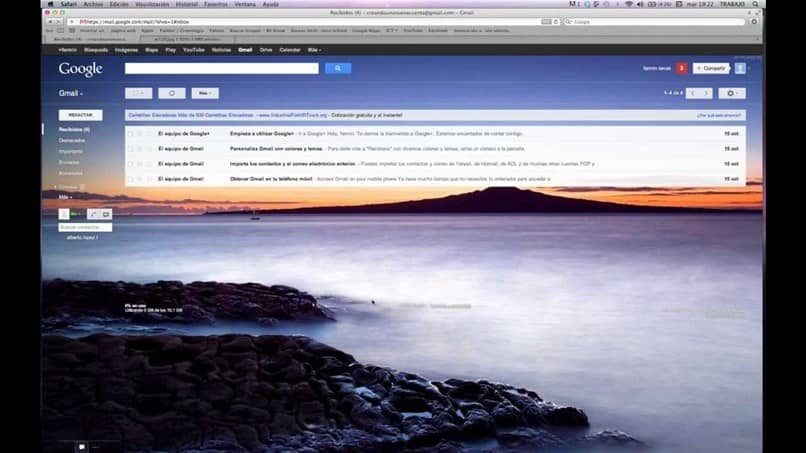 custom gmail theme