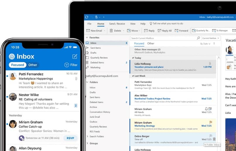 How to Transfer or Export Contacts from my Gmail Account to my Outlook Account - Synchronize Contacts