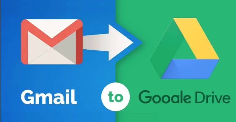 How to Pass or Save my Gmail Emails in Google Drive?