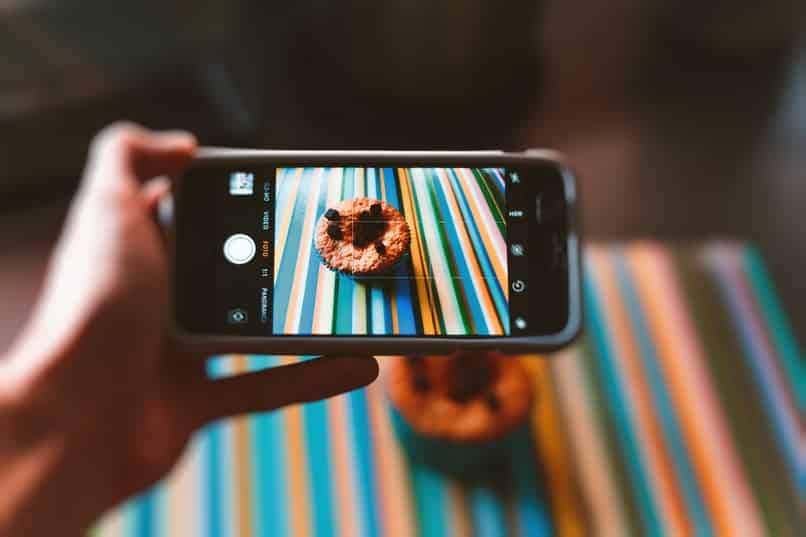 take photo and straighten image with the mobile