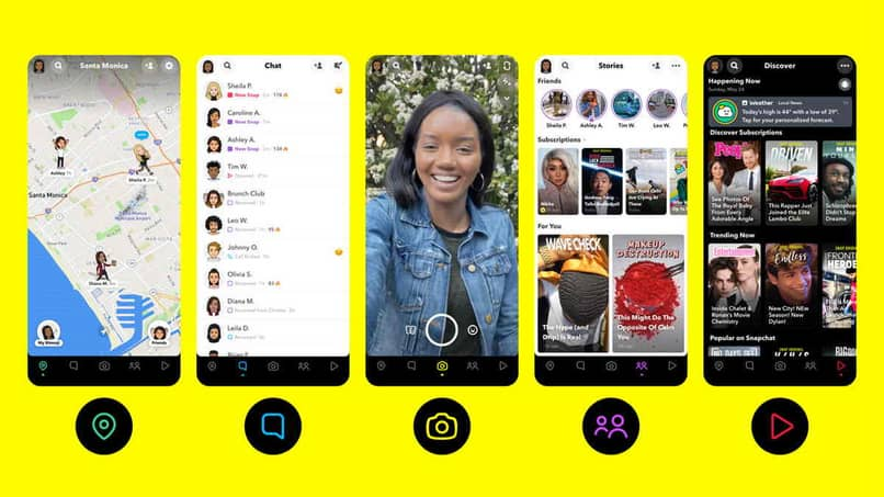 snapchat features and tools