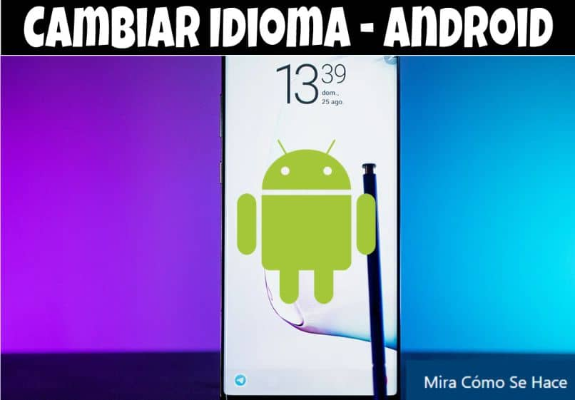 mobile android pencil blue purple background
