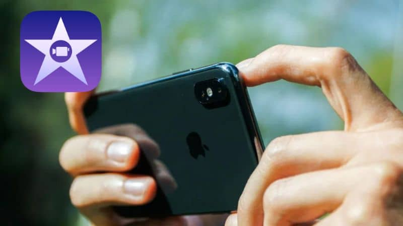 Rotating a horizontal or vertical video with iMovie on iPhone