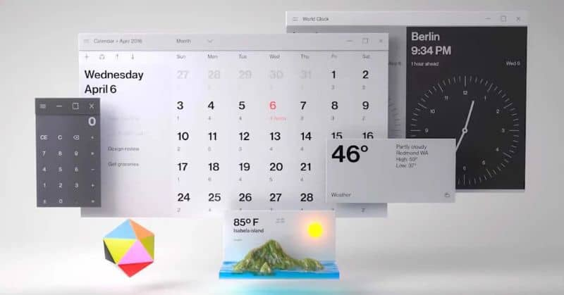 Viewing And Display The Number Of The Week In The Calendar Of Windows 10