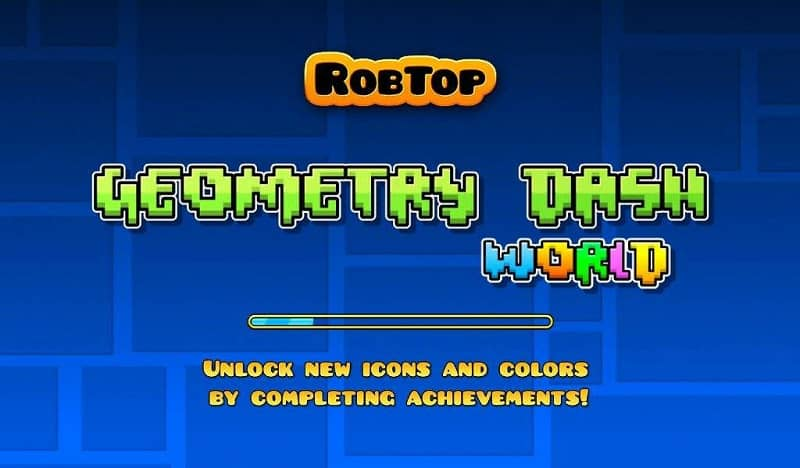 Play Geometry Dash from the cell