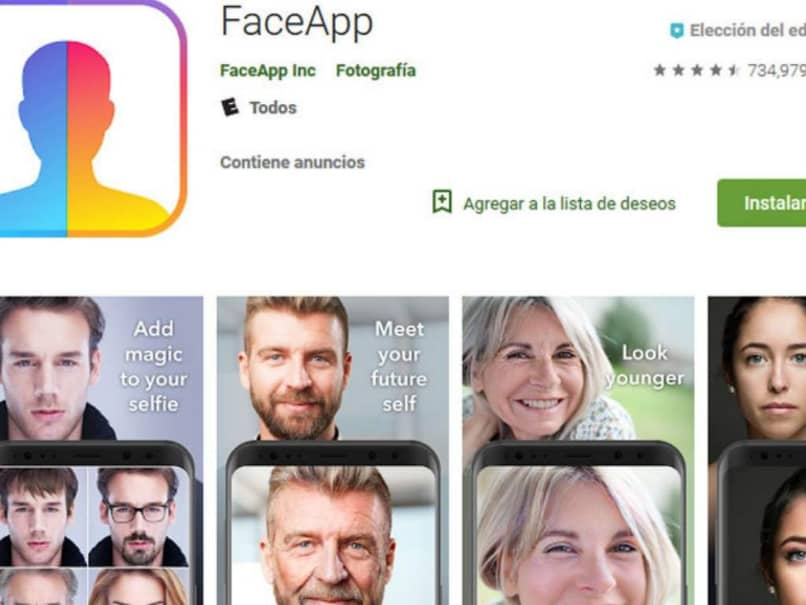 How Can I Uninstall, Delete or Delete FaceApp Forever (Example)