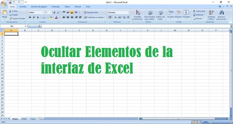 How to Hide Elements of the Excel Interface the Easy Way (Example)