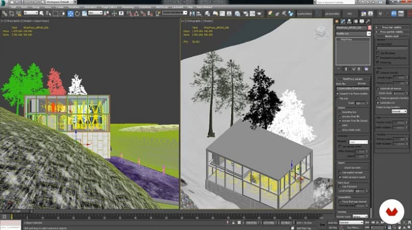 How to Move or Select Multiple Interior Objects in 3D Studio Max if You Can't