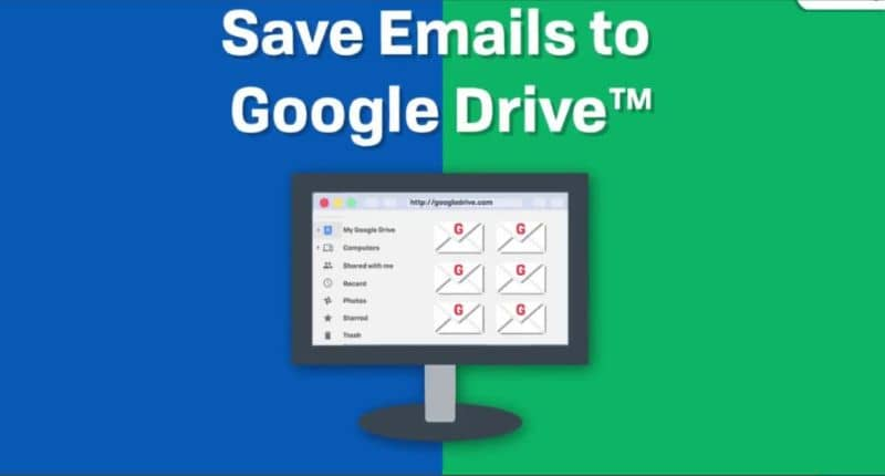 Save Email to Google Drive
