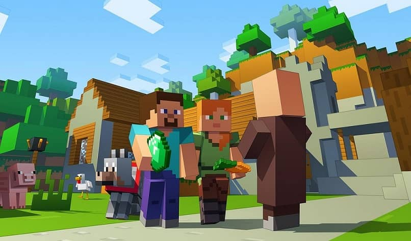 minecraft characters and an akdean