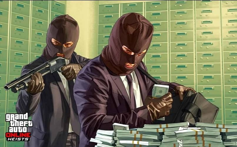bank robbers from gta 5