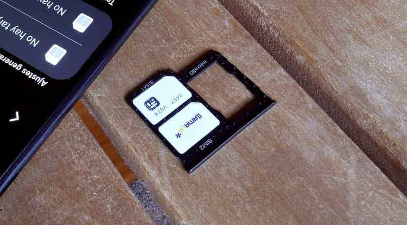 sim tray and memory for the phone