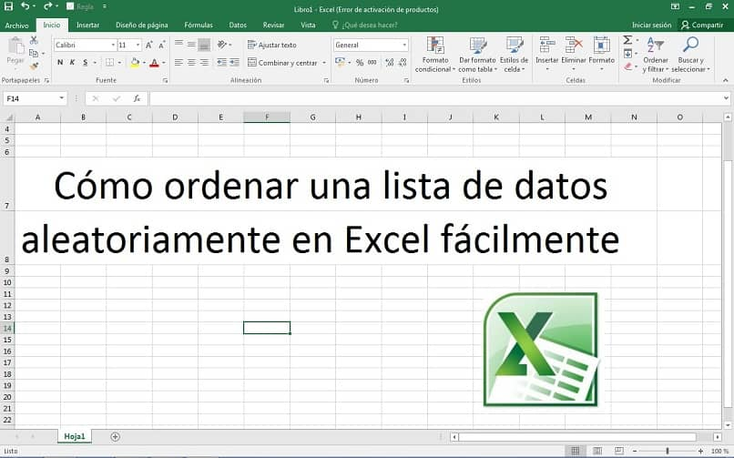 How to Sort a List of Data Randomly in Excel Easily (Example)